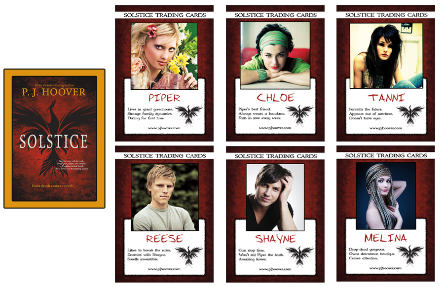 SOLSTICE TRADING CARDS
