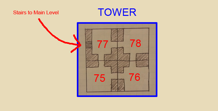 Tower Level Map