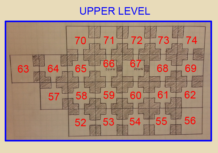 Upper Level Map